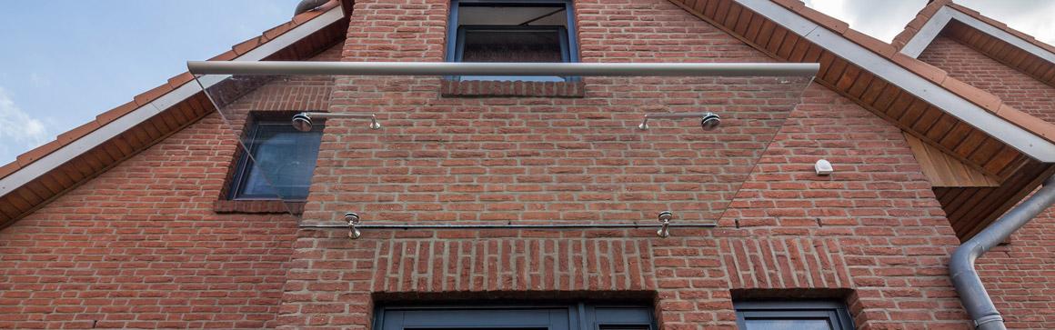 Glasueberdachung Lübeck - Glas Böttcher